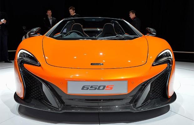 McLaren 650S no Salão de Genebra (Foto: Newspress)