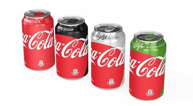 Coca-Cola vai mudar e unificar identidade visual de suas latas (Foto: Divulgação)