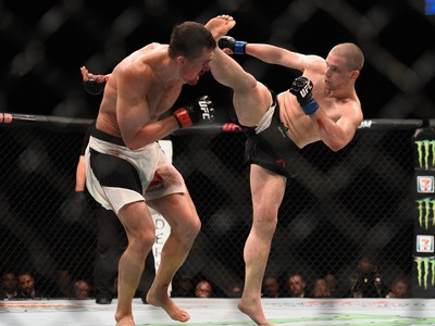 Alex Morono, Kyle Noke, MMA, UFC 195 (Foto: Getty Images)