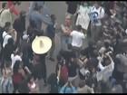 Comício de Trump na Califórnia tem confronto e 7 manifestantes detidos