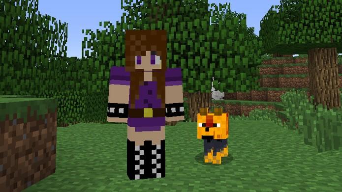Minecraft Como Mudar A Skin De Steve O Personagem Principal Do - Skin para minecraft de oculos