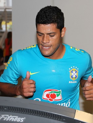 Hulk treino Seleção (Foto: Divulgação / CBF)
