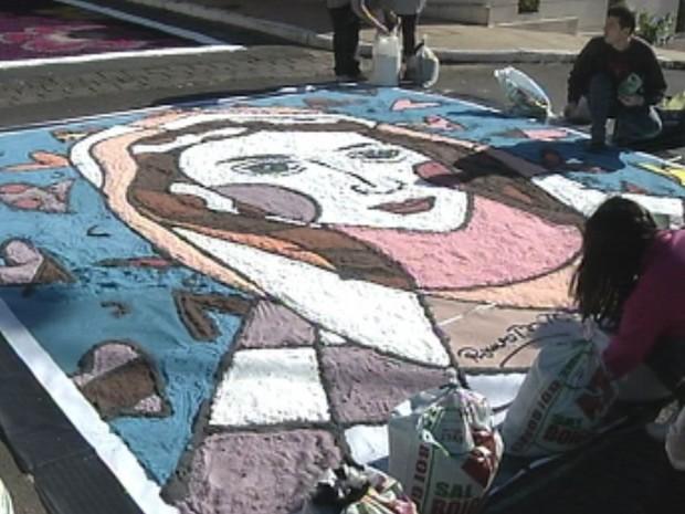 Festa cristã fará releitura das obras do artista (Foto: Reprodução/TV TEM)