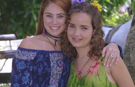 Em 'Uga uga' (2000), a atriz deu vida a Lilith, uma adolescente problemática, que se interessava por homens mais velhos. Na foto, com Juliana Baroni TV Globo/Fábio Costa
