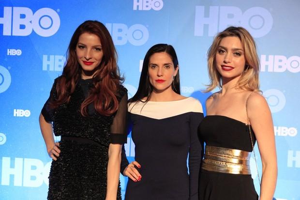 Michelle Batistam, Rafaela Mandelli e Juliana Schalch (Foto: Isac Luz / EGO)