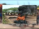 Protesto de índios Kayapó na BR-163 gera congestionamento de 20 km