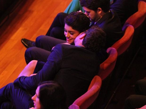 Daniel Oliveria e Sophie Charlotte em prêmio de cinema no Rio (Foto: Thyago Andrade/ Foto Rio News)
