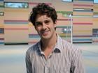 Leonardo Miggiorin se aprofundou em física para viver um professor na nova Malhação