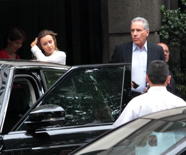 Roberto Justus e Ana Paula Siebert (Foto: Orlando Oliveira / AgNews)