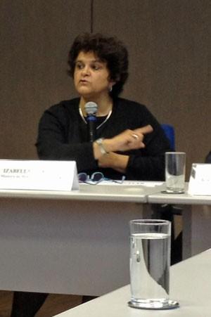 Ministra do Meio Ambiente Izabella Teixeira (Foto: Mariana Olveira/G1)