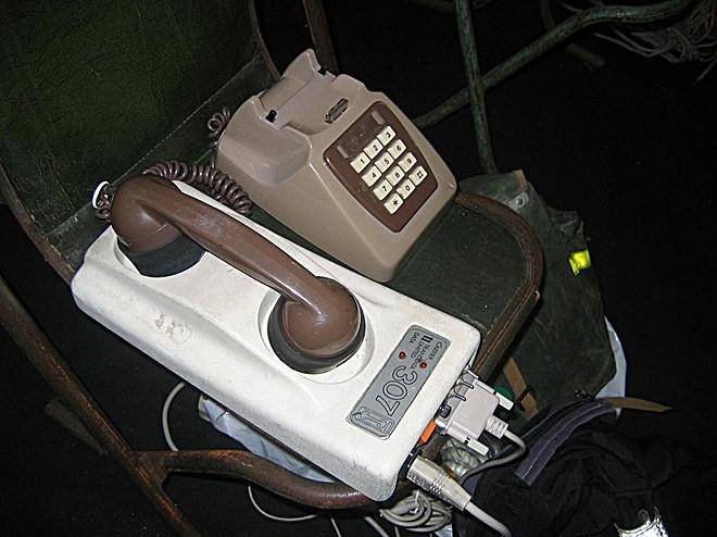 Modem em conexão acústica (Foto: Reprodução/Wikipédia)