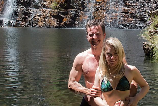 Juliana Baroni e o marido, Eduardo Moreira (Foto: Divulgação)