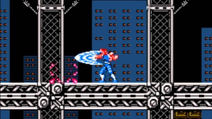 Versão NES de Strider tinha menos ação mas ainda fez sucesso com exploração (Foto: youtube.com) (Foto: Versão NES de Strider tinha menos ação mas ainda fez sucesso com exploração (Foto: youtube.com))