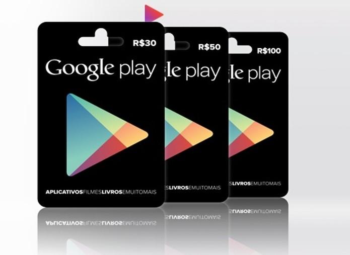 Vale Presente da Google permite compra de apps (Foto: Divulgação)