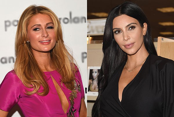 Paris Hilton e Kim Kardashiam (Foto: Getty Images)
