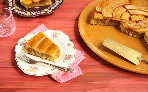 Bolo perfeito de banana caramelada: receita da Rita Lobo
