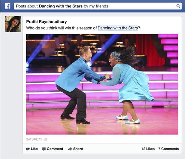 Graph Seach, a busca social do Facebook, começará a pesquisar informação nas postagens dos usuários. (Foto: Divulgação)
