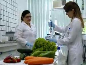Laboratório onde foram realizadas as análises (Foto: RBS TV/Reprodução)