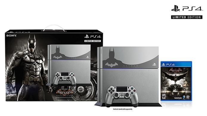 PlayStation 4 ganha versão temática baseada no aguardado Batman: Arkham Knight (Foto: Divulgação)