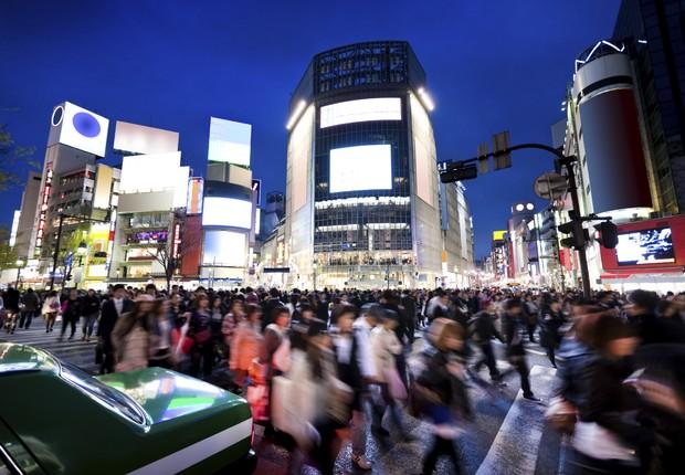 Tóquio ; PIB do Japão ; população do Japão ; natalidade no Japão ; economia do Japão ; (Foto: AFP/Getty Images)