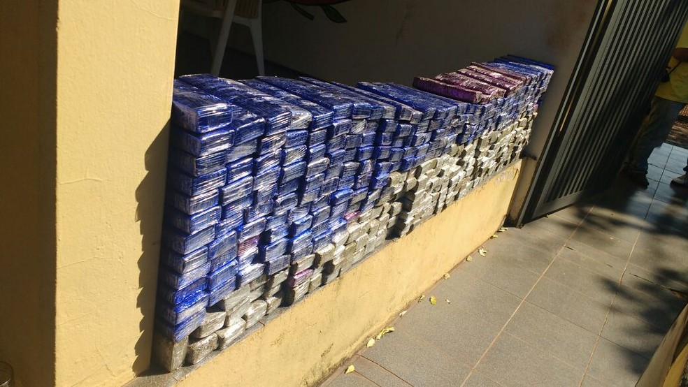 Adolescente contou que vinha do Mato Grosso do Sul e que ganharia R$ 20 mil para entregar a droga em São Paulo (Foto: Polícia Rodoviária/Divulgação)