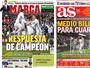 """Imprensa vê Real com """"meio bilhete"""" para as quartas, mas Zidane minimiza"""