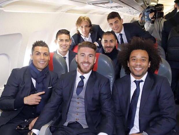 """BLOG: Partiu! Real Madrid viaja """"na beca"""" para jogo da Champions em Roma"""