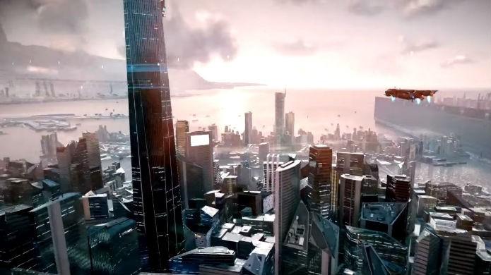 Killzone Shadow Fall: é fácil se perder nos grandes mapas do game (Foto: Reprodução/Thomas Schulze)