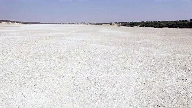 Lago já teve 25 mil quilômetros quadrados na década de 1960 (Foto: Reprodução)
