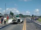 Três pessoas morrem em acidentes em rodovias da região central do PR