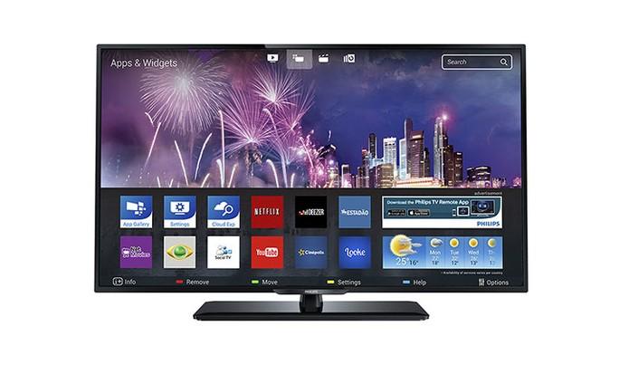 Smart TV da Philips tem tela Full HD e tecnologia Miracast (Foto: Divulgação/Philips)