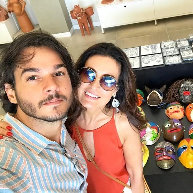 Túlio Gadelha, namorado de Fátima Bernardes (Foto: Reprodução/Instagram)
