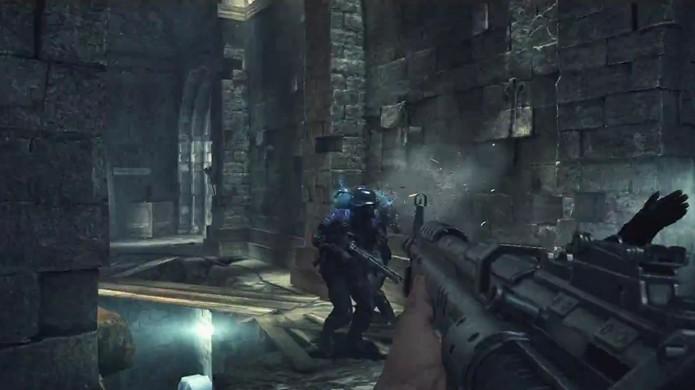 Prepare-se para matar nazistas antes de poder enfrentar os demônios de Doom 4 (Foto: Reprodução)