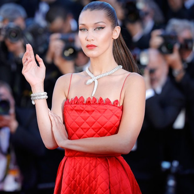 Bella Hadid Cannes 2017 (Foto: Getty Images)