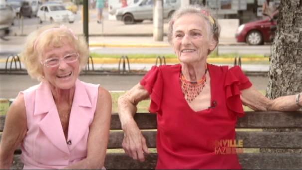 Vídeo fala sobre a cidade por meio de depoimentos de moradores (Foto: Reprodução/RBS TV)