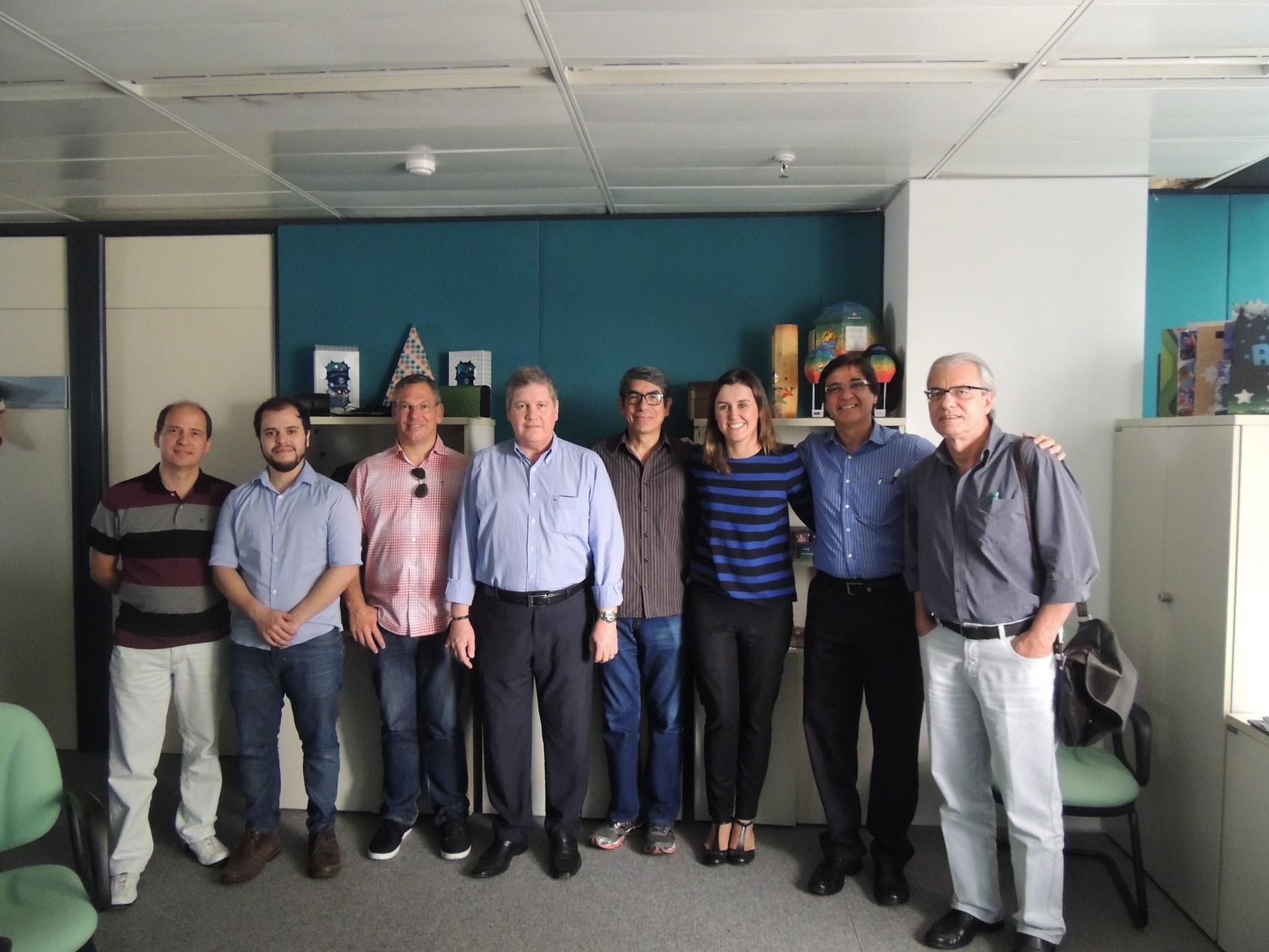 Júri do Criatividade reuniu-se no prédio da Globo Nordeste (Foto: Divulgação/TV Cabo Branco)