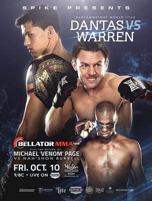 cartaz evento MMA The Baddest Man On The Planet (Foto: Divulgação )