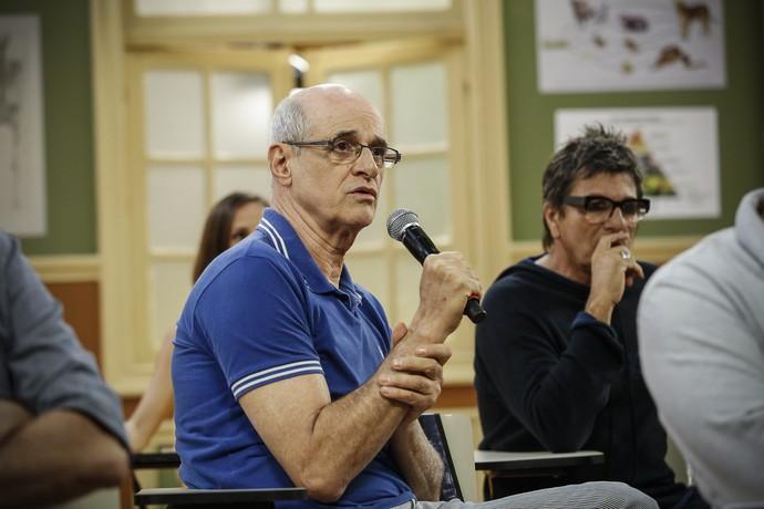 Marcos Caruso define segunda temporada da Escolinha: 'A gente passou de ano' (Foto: Raphael Dias/Gshow)