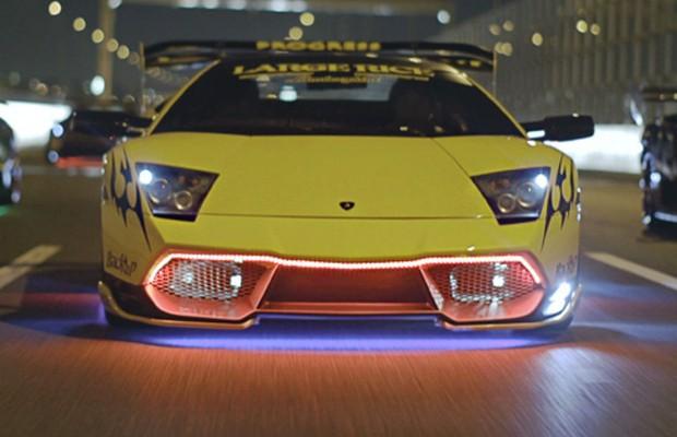 Documentário mostra as Lamborghinis modificadas da máfia japonesa (Foto: Reprodução/Luke Huxham)