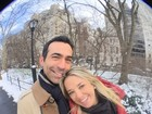 Ticiane Pinheiro curte Nova York com o namorado, César Tralli