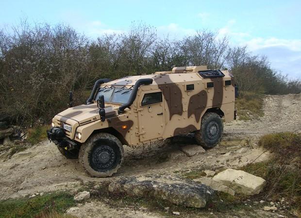 Sherpa APC é o carro escolhido pela tropa de elite da PF para as Olimpíadas (Foto: Renault Trucks Defense)