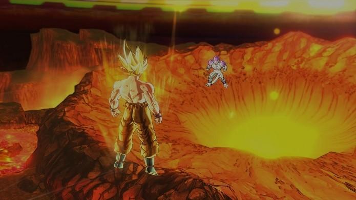 Todas as batalhas épicas de Dragon Ball Z estão presentes (Foto: Reprodução/Victor Teixeira)
