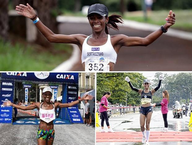 Maria Zeferina eu atleta (Foto: Editoria de Arte)