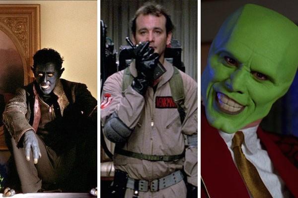 Os atores Alan Cumming, Bill Murray e Jim Carrey (Foto: Reprodução)