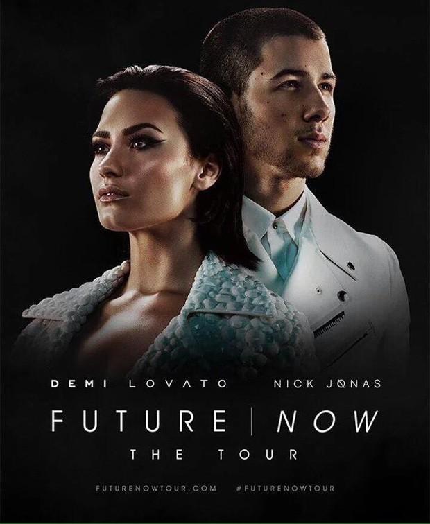 Demi Lovato e Nick Jonas anunciam turnê (Foto: Divulgação)