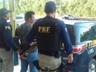 Mototaxista clandestino foragido da Justiça é preso pela PRF na BR-163