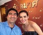 Zeca Camargo na Tailândia | Reprodução