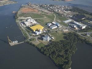 Vista do Parque Tecnológico do Fundão (Foto: Divulgação/Parque Técnológico do Fundão)