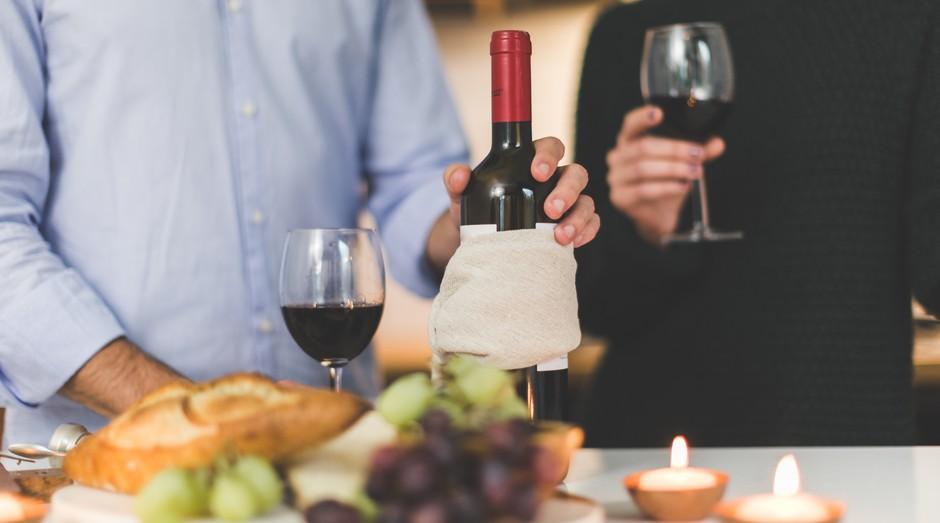 vinho, garrafa, taça (Foto: Reprodução/Pexels)