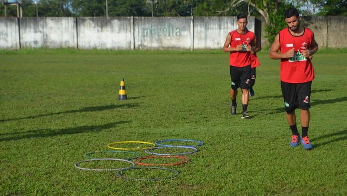 Diego Ratinho; Amapá; Trem (Foto: Rafael Moreira/GE-AP)